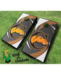 campbell fighting camels NCAA cornhole boards Swoosh