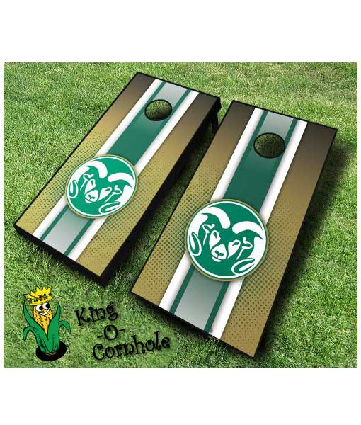 colorado state rams NCAA cornhole boards-Stripe