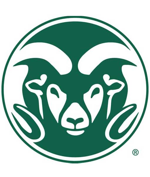 Colorado State Rams Cornhole Boards
