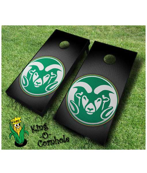 colorado state rams NCAA cornhole boards Slanted