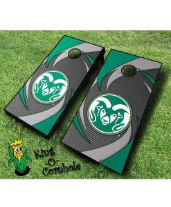 colorado state rams NCAA cornhole boards Swoosh