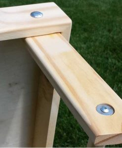 Cornhole Boards legs detail