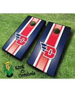 dayton flyers NCAA cornhole boards Stripe