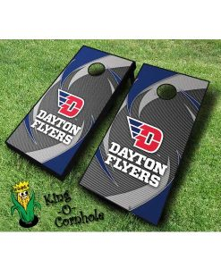dayton flyers NCAA cornhole boards Swoosh