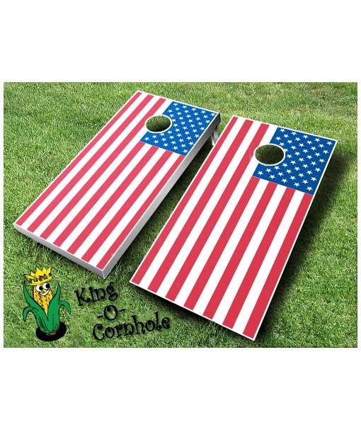 Flag Cornhole Boards