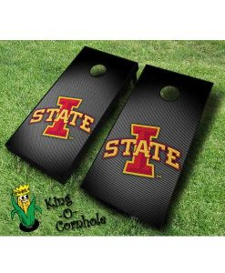 iowa state cyclones NCAA cornhole boards Slanted