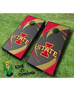 iowa state cyclones NCAA cornhole boards Swoosh