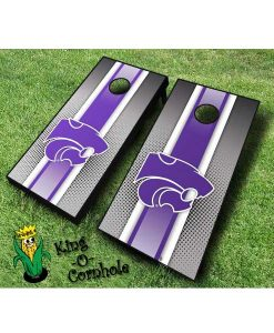 kansas state wildcats NCAA cornhole boards Stripe
