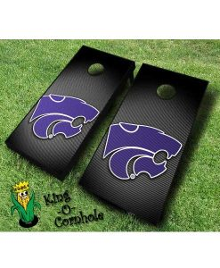 kansas state wildcats NCAA cornhole boards Slanted