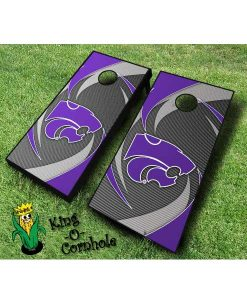 kansas state wildcats NCAA cornhole boards Swoosh