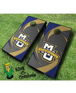 marquette golden eagles NCAA cornhole boards Swoosh