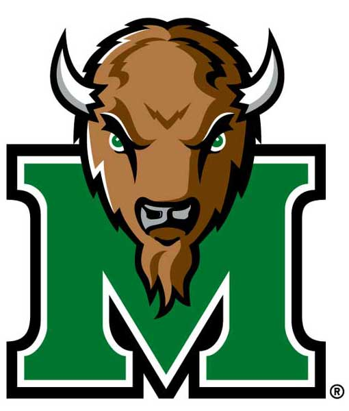 Marshall Thundering Herd Cornhole Boards