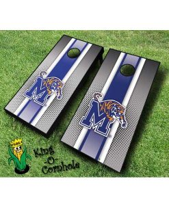 memphis tigers NCAA cornhole boards Stripe