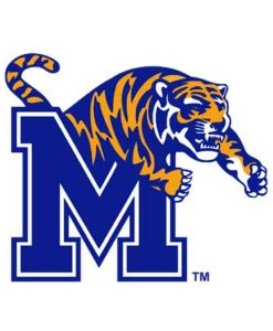 Memphis Tigers Cornhole Boards