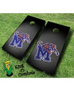 memphis tigers NCAA cornhole boards Slanted