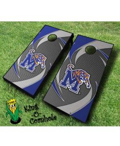 memphis tigers NCAA cornhole boards Swoosh