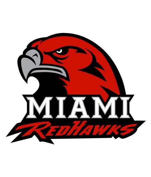 Miami Redhawks Cornhole Boards