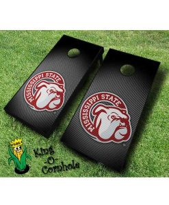 mississippi state bulldogs NCAA cornhole boards Slanted