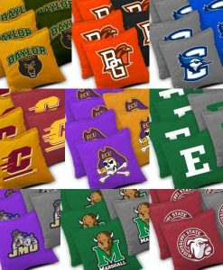 NCAA College Cornhole Bags Detail