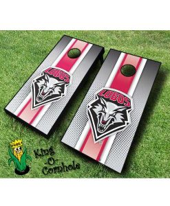 new mexico lobos NCAA cornhole boards Stripe