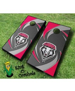 new mexico lobos NCAA cornhole boards Swoosh