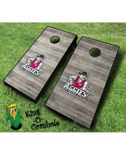 new mexico state aggies NCAA cornhole boards Distressed