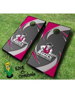 new mexico state aggies NCAA cornhole boards Swoosh