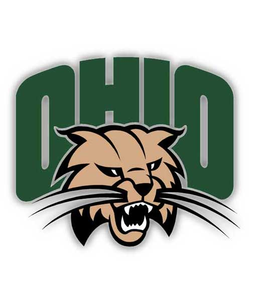 Ohio University Bobcats Cornhole Boards
