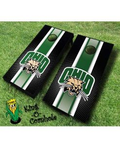 ohio university bobcats NCAA cornhole boards Stripe