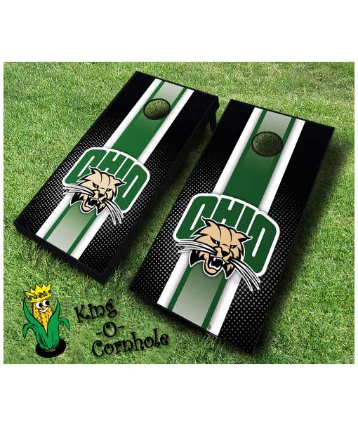 ohio university bobcats NCAA cornhole boards Stripe