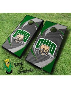 ohio university bobcats NCAA cornhole boards Swoosh