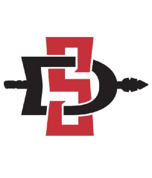 San Diego State Aztecs Cornhole Boards