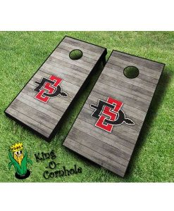 san diego state aztecs NCAA cornhole boards Distressed