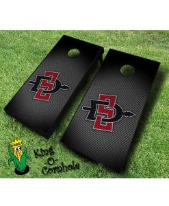 san diego state aztecs NCAA cornhole boards Slanted
