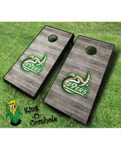 unc charlotte 49ers NCAA cornhole boards Distressed