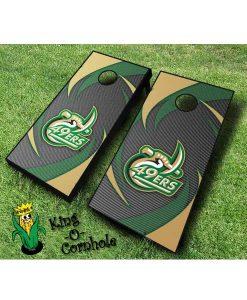 unc charlotte 49ers NCAA cornhole boards Swoosh