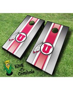 utah utes NCAA cornhole boards Stripe