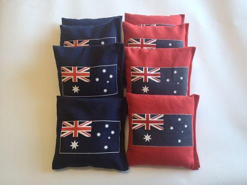 Australian Flag Cornhole Bags