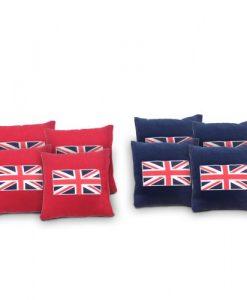 British Flag Cornhole Bags