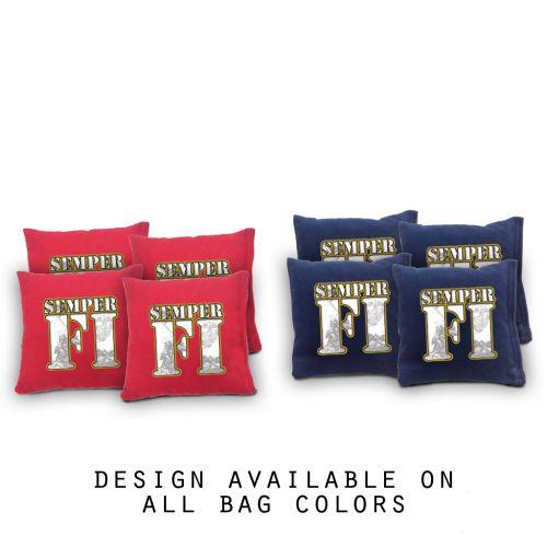 Marine Cornhole Bags