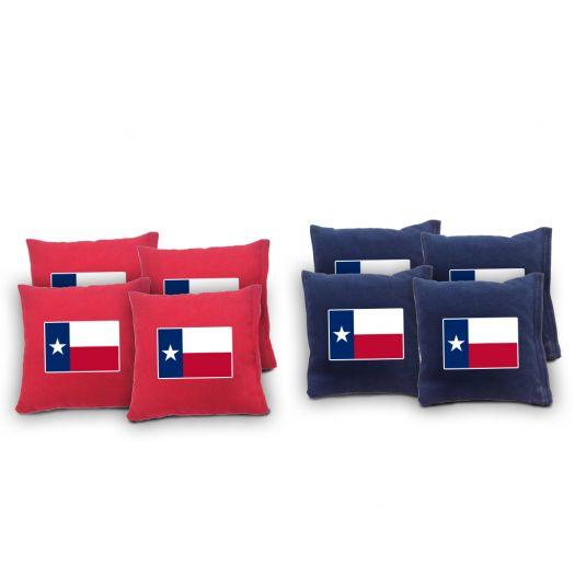 Texas Flag Cornhole Bags
