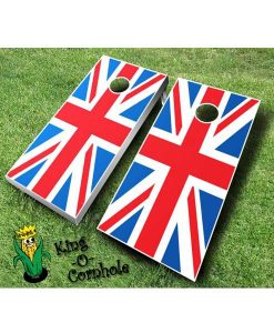 British Flag Cornhole Boards