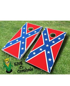 Confederate FLag Cornhole Boards