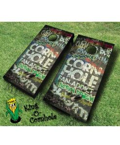 Fan Addict Cornhole Board Game Set