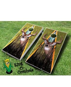 Deer Cornhole Game Set