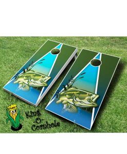 Fishing Cornhole Board Game Set