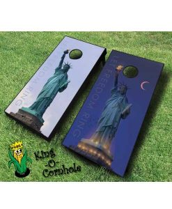 Let Freedom Ring Cornhole Game Set