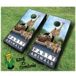 Party Animals Cornhole Game Set