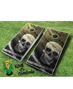Pirate Cornhole Board Game Set
