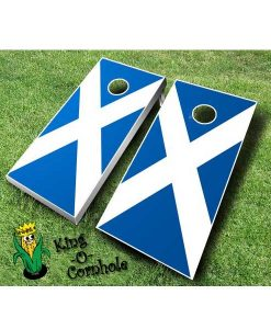 Scottish Cornhole Boards Set